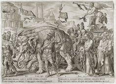 Triumph of Fame - Maarten van Heemskerck - Pictify - your social art network