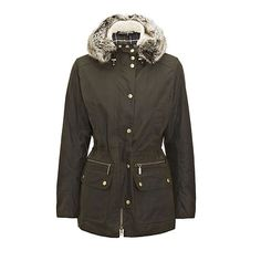 Barbour damen jacke winter force parka