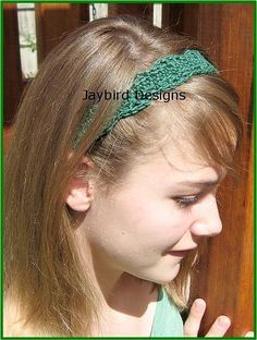Looking for your next project? You're going to love Pretty Little Headband by designer JaybirdDesigns.
