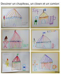 Le Journal de Chrys: Mon projet CIRQUE en maternelle (2) Circus Activities, Le Clown, Mardi Gras, Projects To Try, Education, Journal, Clowns, Montessori, Alphabet