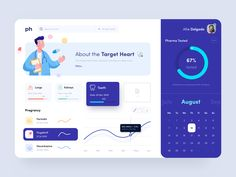 User Interface Design Inspiration Every day most digital designers look for inspiration on sources like Dribbble or Behance for mobile and webdesign . Dashboard Ui, Dashboard Design, App Ui Design, User Interface Design, Identity Design, Microsoft Excel, Ui Web, Web Layout, Design Agency