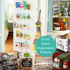 15 DIY Pantry Organization Projects to Start Today