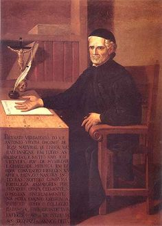 "Father António Vieira, 1608 - 1697, was a Portuguese Jesuit and writer, the ""prince"" of Catholic pulpit-orators of his time."