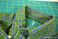Tonight, I turned this men's dress shirt......       into this apron!       Here's the tutorial and some helpful tips -   My sister and brot...