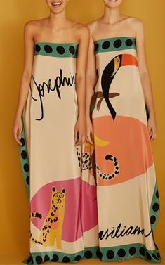 Josephine Baker Panneaux Sarong by Adriana Degreas