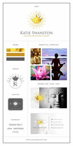 Branding Kit | Gold Logo | Photography Logo | Business Logo | Branding Package | Branding Kit Design | Business Branding
