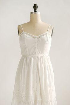 Vintage Inspired Dresses / Vintage Style Lace Sundress / Meredith Dress