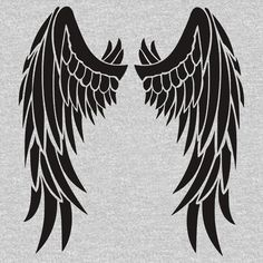 about Stencil Angel Wings ~ UMR Wall Stencil Stencil Angel Wings ~ UMR Wall Stencil in Crafts, Multi-Purpose Craft Supplies, Stencils & Templates Free Tattoo Designs, Wing Tattoo Designs, Angel Tattoo Designs, Tribal Tattoos, Body Art Tattoos, Tattoo Drawings, Hanya Tattoo, Tribal Feather, Tribal Wings