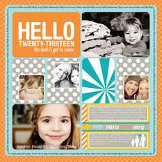 Digital Project Life: Title Page 2013: Heather Johnson Photography » Minneapolis/St Paul Children's Photographer