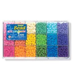 The Beadery Bead Extravaganza 2300 pk Pony Bead Box Soft Rainbow Letter Bead Bracelets, Pony Bead Bracelets, Beaded Braclets, Friendship Bracelets With Beads, Letter Beads, Rainbow Loom Bracelets, Summer Bracelets, Pony Beads, Bff Bracelets