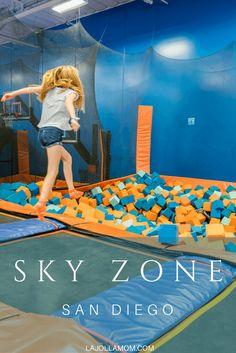 9 Things To Do At A Sky Zone San Go Trampoline Park