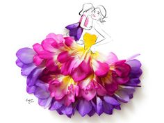 ilustração com flores9