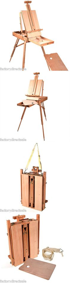 Easels 41204: French Easel Wood Sketch Box Portable Folding Artist Painters Tripod Christmas -> BUY IT NOW ONLY: $49.99 on eBay!