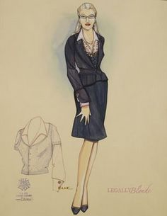 Legally Blonde the Musical costume design