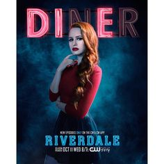 """Get This Special Offer Riverdale Madelaine Petsch as Cheryl Blossom Promo Diner """"DIE"""" 8 x 10 Inch Photo Riverdale 2017, Riverdale Poster, Riverdale Cheryl, Riverdale Archie, Riverdale Memes, Riverdale Cast, Madelaine Petsch, Archie Comics, Backgrounds"""