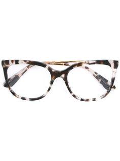 4ffe8b8e1752 Dolce   Gabbana Eyewear Cat Eye Frame Glasses - Farfetch
