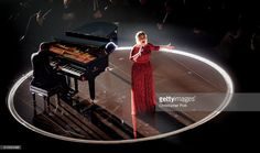 Singer Adele performs onstage during The 58th GRAMMY Awards | ElegantPlus.com Curvy Celebrity Style Board