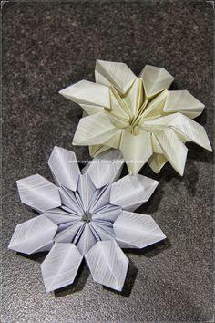 Origami Maniacs: Origami Magic Flower by Ilan Garibi