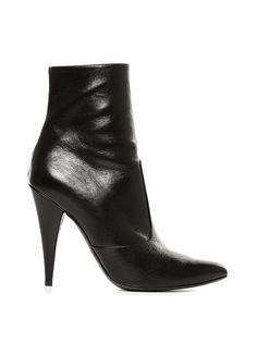 Fetish point-toe leather ankle boots | Saint Laurent | MATCHESFASHION.COM US