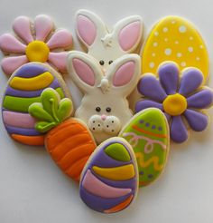 Easter Cookies by thecakeboutique on Etsy, $24.00