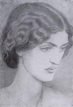 Jane Morris - Dante Gabriel Rossetti