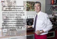 Nasz barista podpowiada jak sprawić by kawa zachowała na dłużej swoje walory smakowe oraz jak prawidłowo serwować napój w porcelanowej filiżance. #Segafredo #Barista #Coffee #Espresso #SoItalian