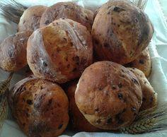 Ricetta Pagnottine con uvetta ,cannella e scorza d'arancia pubblicata da noemi76 - Questa ricetta è nella categoria Pane