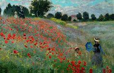 Les coquelicots - Claude Monet