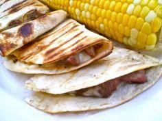 Grilled Steak Quesadillas from favfamilyrecipes.com #quesadilla #steak #recipes