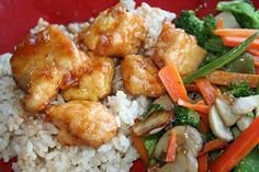 Sweet and Sour Chicken - Oh Sweet Basil