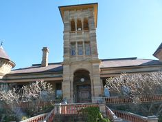 The central tower of Belmont, North Richmond, NSW. Today it is a St John of God hospital.