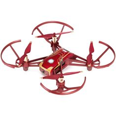 The DJI Tello can shoot stills and video. Tony Stark, Small Drones, Basic Programming, Iron Man Armor, Stark Industries, Bluetooth Remote, Learn To Fly, Drone Quadcopter, Gifts
