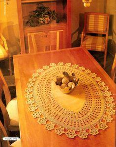 blog com centenas de gráficos de crochê, tapetes, centros de mesa, etc