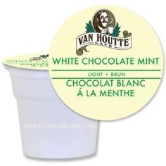 Van Houtte White Chocolate Mint for Keurig Brewers. 48 K-cups: Amazon.com: Grocery & Gourmet Food