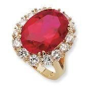 RUBIES are my favorite gems.  In 1968, Aristotle Onassis gave a 17.68 carat ruby ring to Jackie O  as a wedding present. This ring sold at a Sotheby's auction in 1996 for $290,000.