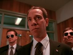 Albert Rosenfield as played by Miguel Ferrer Twin Peaks was to return but the actor died