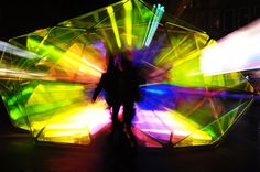 'Cityscope' amplifies the fragmented perception of urban spaces. The bevelling structure operates like an urban kaleidoscope that reflects the fragmented ima...
