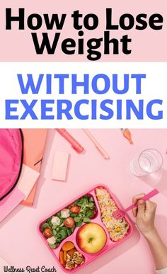 It's possible to lose weight without exercising. Learn how to learn 10 pounds or more fast. Get a flat stomach and speed up for metabolism with these easy tips! Lose Weight Fast Diet, Lose Weight In A Week, Losing Weight Tips, Easy Weight Loss, Healthy Weight Loss, How To Lose Weight Fast, Stubborn Belly Fat, Lose Belly Fat, Lower Belly