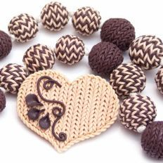 """How-to - tutorial - Making the """"Knitted"""" look with sculpey clay"""