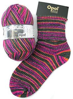 Opal Sock Yarn - 4 Ply Multicolors