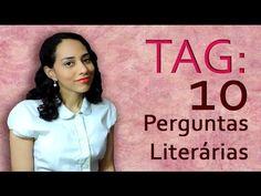 TRACINHAS: TAG - 10 Perguntas Literárias, por Lídia Rayanne