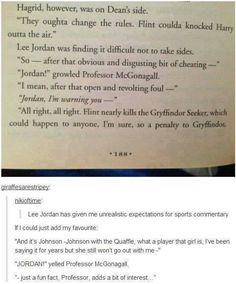 My favorite part of all the books is the commentary