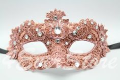 Glamorous Pink Coral Lace Mardi Gras Mask Embellished with Lace, Gems and Jewels Venetian,http://www.amazon.com/dp/B00CBBSIBE/ref=cm_sw_r_pi_dp_t7PGtb0961BCDRAZ