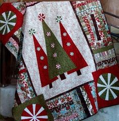 Awesome Christmas quilt