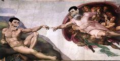 Miguel Ángel en Meme