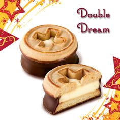 Double Dream: Oven-fresh short dough cookies, filled with a velvety cream, dipped in Swiss milk chocolate and decorated with the design of the Swiss flag. #SwissBiscuit #Cookies #Holiday #Costco
