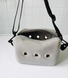 Made to order sugar glider rat small animal travel bag gray