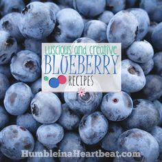 Leftover Ingredients: Blueberries - Humble in a Heartbeat
