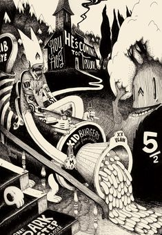 Self-professed expensive illustrator and purported child eater...and oh so talented. mcbess 2D http://mcbess.com/illus.html#