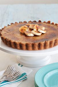 Banana Pudding Creme Brulee Tart from Taste of the South magazine
